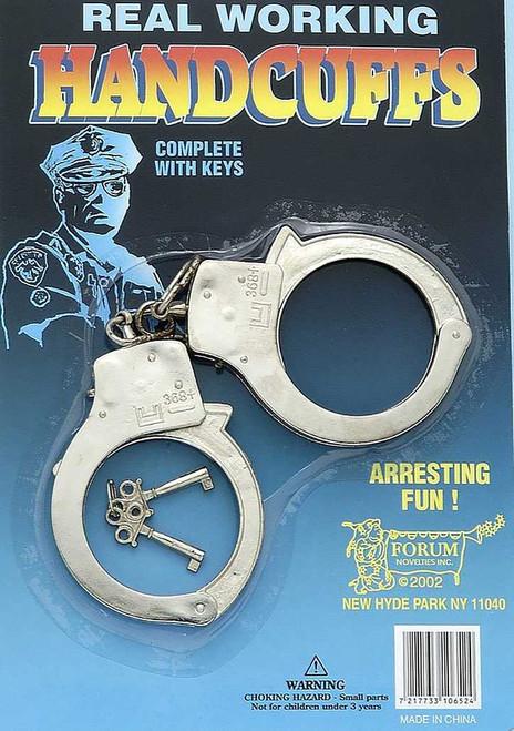 Police hand cuffs