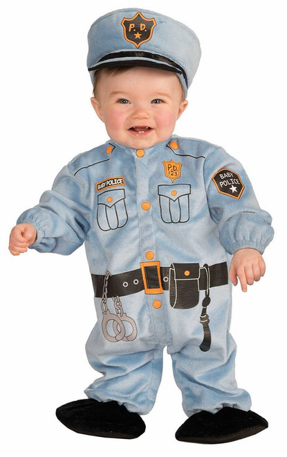 Cop Baby Costume
