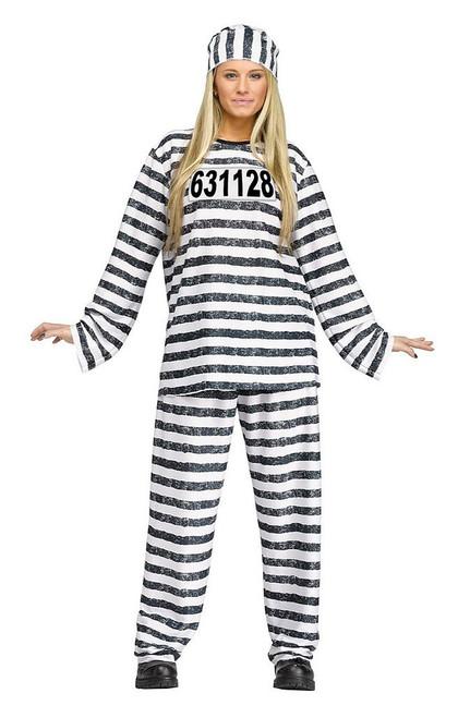 Jailhouse Honey Adult Costume