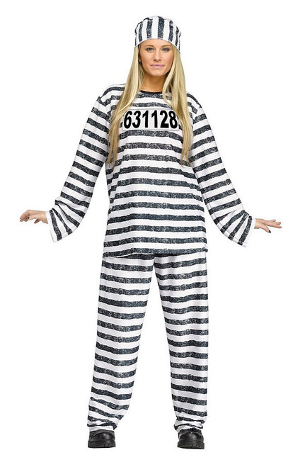 Jailhouse Honey Adult Costume