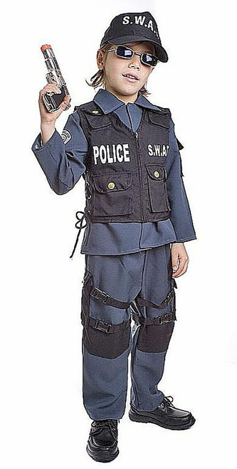 Deluxe S.W.A.T Costume Child