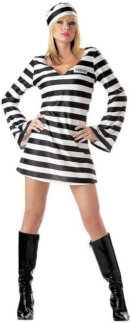 Convict Chick Prisoner Costume
