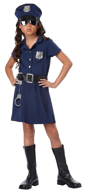 Police Officer Girl Costume