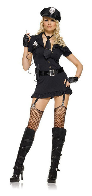 Dirty Cop Womens Costume