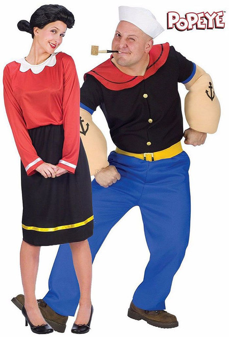 Popeye Couple Costume