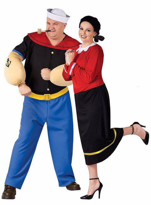 Popeye Plus Couple Costume