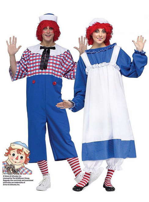 Raggedy Ann Couple Costume