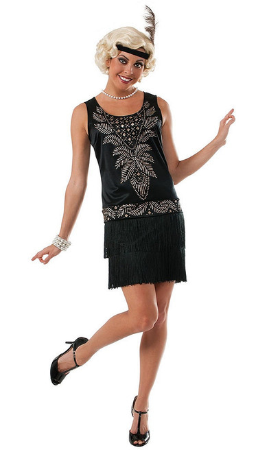 Cocktail Flapper Womens Costume