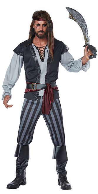 Scallywag Pirate Mens Costume