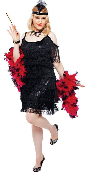 Manhattan Flapper Plus Size