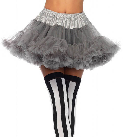 Layered Tulle Petticoat Grey
