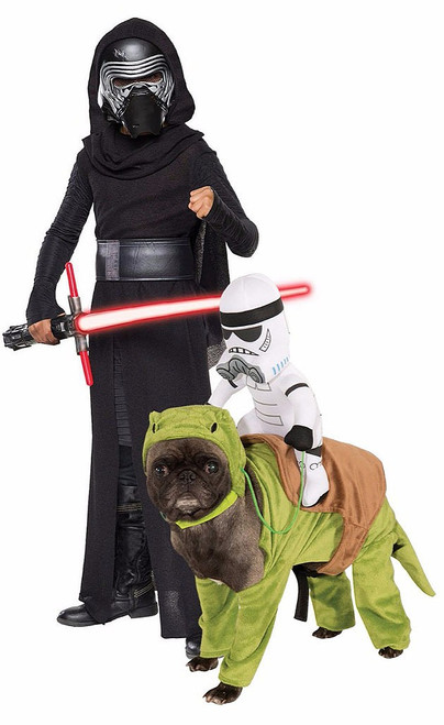 Star Wars Couple Costume with Pet