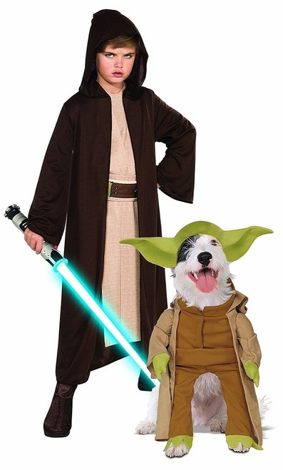 Star Wars Costume Couple with Pet