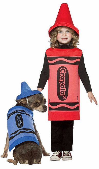 Crayola Couple Costume with Pet