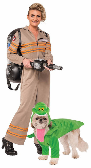 Ghostbusters Costume with Pet