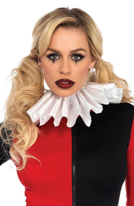 Harlequin Pleated Ruffle Collar
