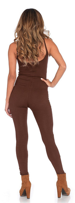 Basic Brown Unitard