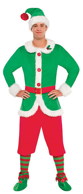 Christmas Elf Mens Costume
