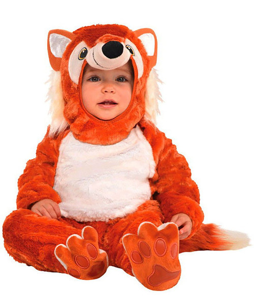 Furry Fox Baby Costume