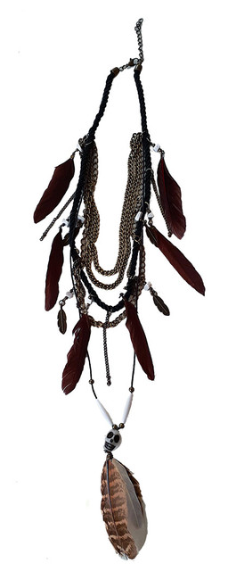 Voodoo Witch Doctor Necklace