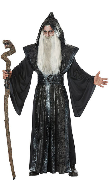 Dark Wizard Costume Mens