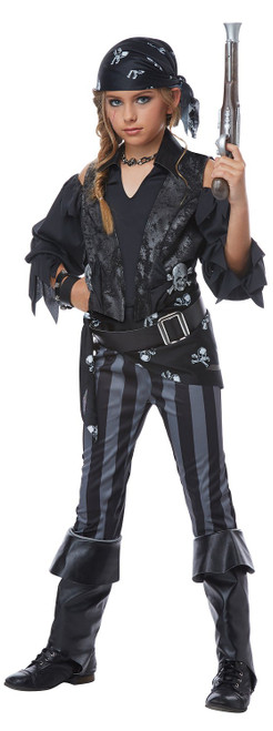Rebel Pirate Girls Costume