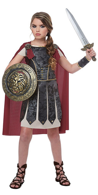 Female Gladiator Girls Costume