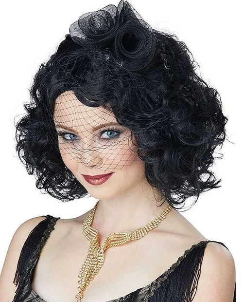 Savoir Faire Black Wig