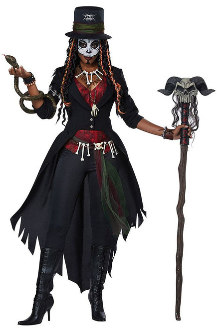 Voodoo Magic Womens Costume
