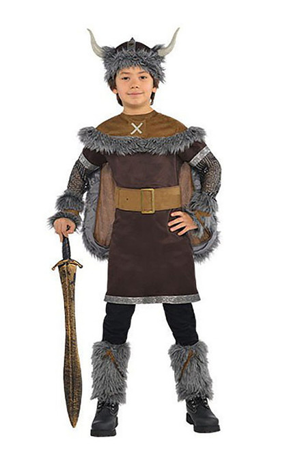 Viking Warrior Child Costume