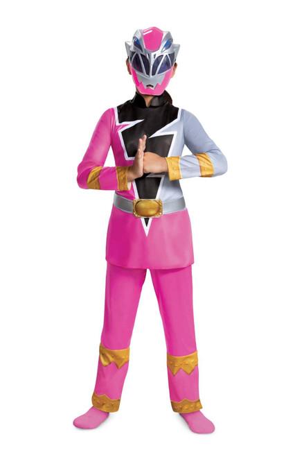 Pink Ranger Dino Fury Deluxe Girl Costume
