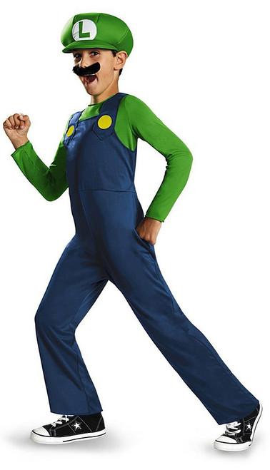 Luigi Classic Costume