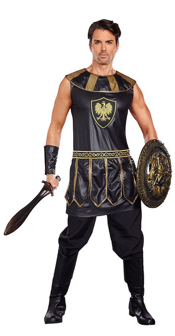 Deadly Warrior Mens Costume