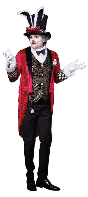 White Rabbit Mens Costume