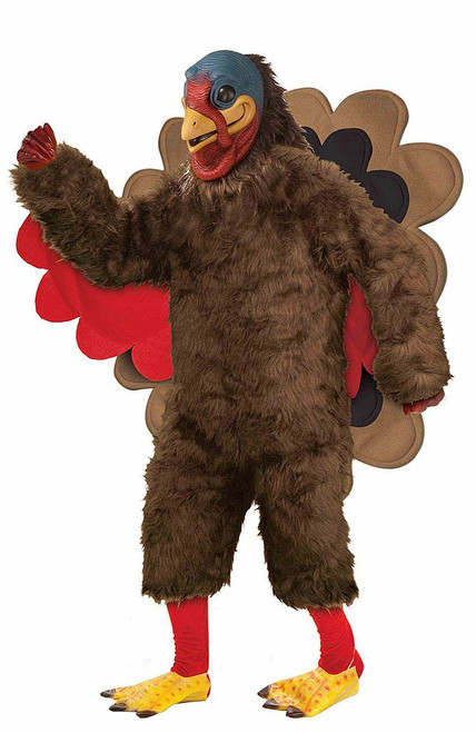 Plush Turkey Costume
