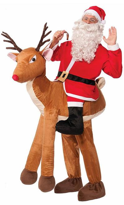 Santa Ride-A-Reindeer Costume