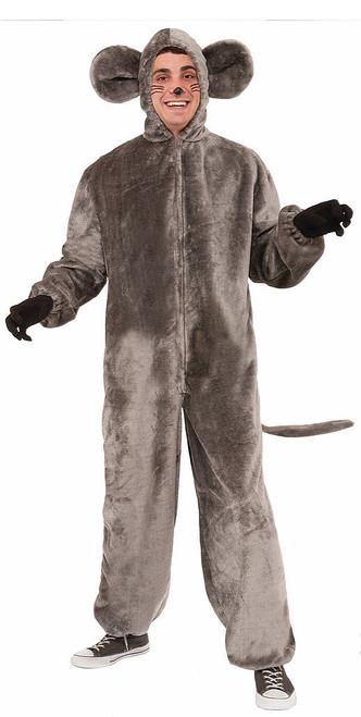 Plush Gray Mouse Costume