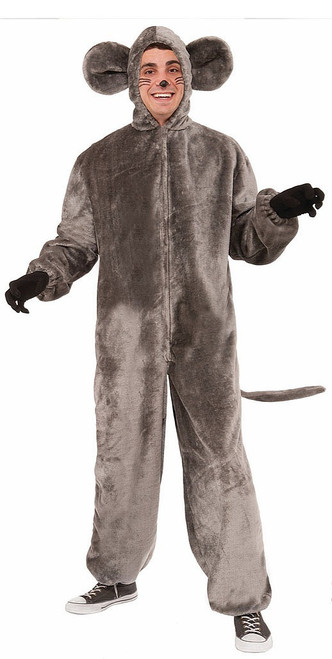Plush Gray Mouse Costume