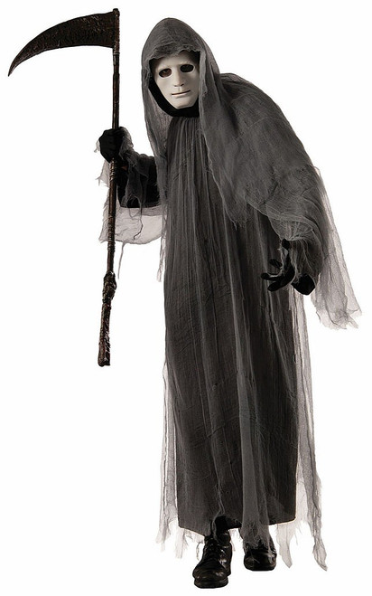 Grey Ghoul Robe Men Costume