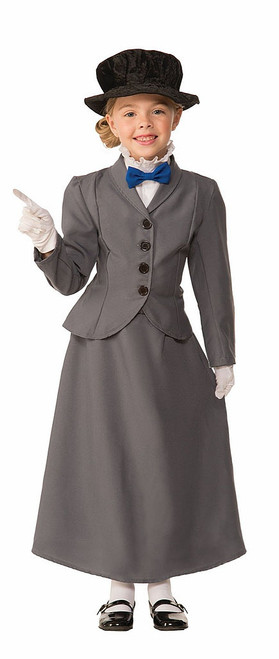 English Nanny Girls Costume