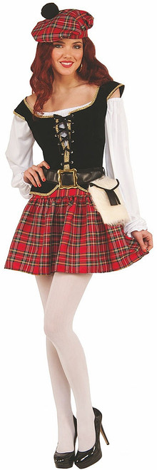 Saucy Scotty Costume