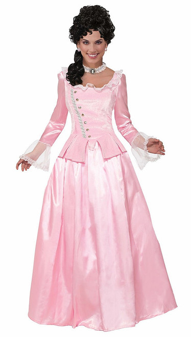 Colonial Maiden Pink Costume