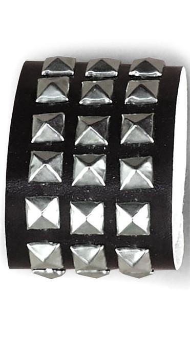 Triple Studded Wristband