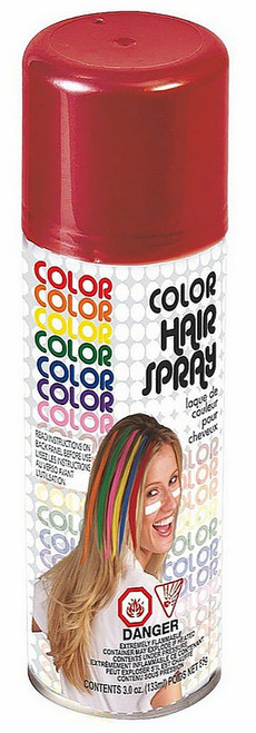 Red Hairspray