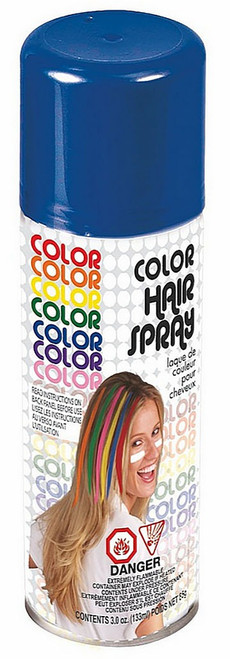 Blue Hairspray