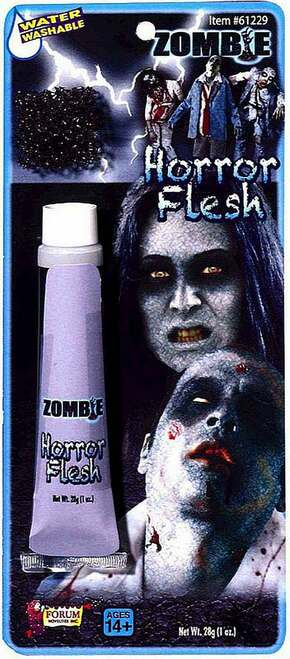 Horror Makeup Grey Flesh
