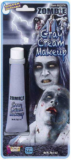 Grey Zombie Makeup Cream