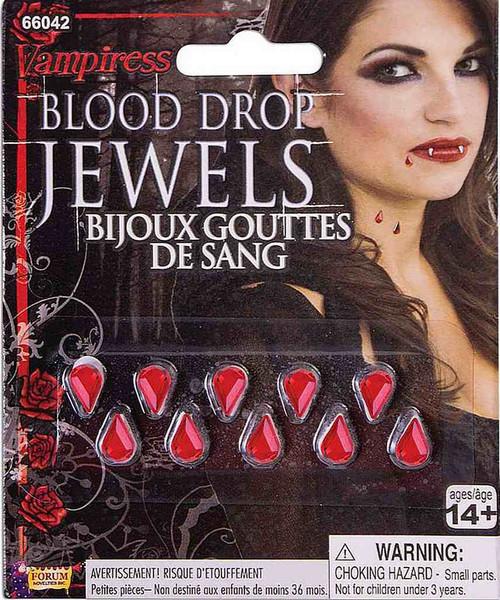 Vampiress Blood Drop Jewels