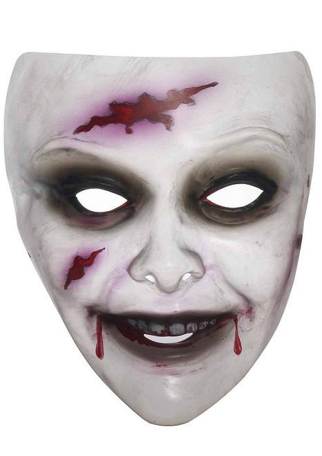 Transparent Zombie Mask Female