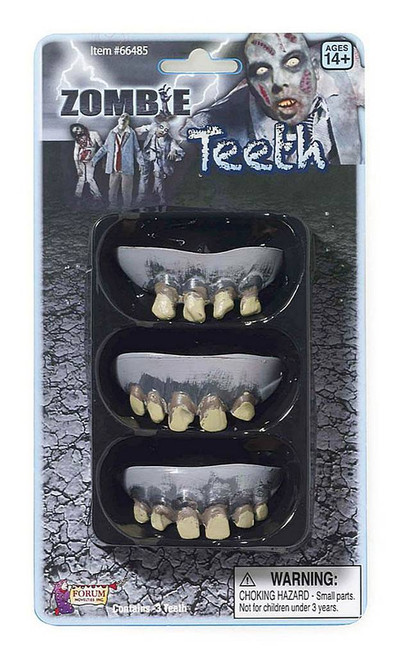 Zombie Rotted Teeth 3 Pack